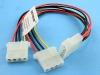 Удлинитель-разветвитель питания PATA HDD->2HDD, Definum DF-HDD4M-2HDD4F-020