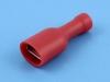 Кабельный наконечник ножевой мама, изолированный, 6.4х0.8мм, красный, F1-6.4VF