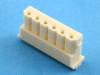 Корпус разъема HR-06, шаг 2.50мм, белый, HSM H2530-06PW0000R