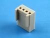 Корпус разъема HU2.5-04, шаг 2.50мм, бежевый, HSM H2630-04PC0000R