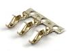 Клемма HU2.5, шаг 2.54мм, 22-26AWG, Brass, Tin, HSM T2630-TBI00000R