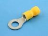 Кабельный наконечник кольцевой, изолированный, M6, 2.50-6.00мм2, КВТ НКИ 6.0-6