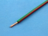 Провод монтажный НВМ-4 0.35мм2, 600В, зелено-красный