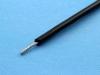 Провод монтажный луженый НВ-4 0.20мм2, 600В, черный