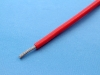 Провод монтажный луженый НВ-5 0.35мм2, 600В, красный