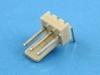 Вилка на плату WF-03R (MX) угловая, 3 контакта, шаг 2.54мм, HSM W2600-03PRYTC0R