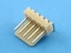 Вилка на плату WF-05R (MX) угловая, 5 контактов, шаг 2.54мм, HSM W2600-05PRYTC0R