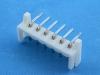 Вилка на плату EHR-06MR, шаг 2.50 мм, под пайку, угловая, HSM W2620-06PRTW00R