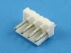Вилка на плату PWL2-04 прямая, шаг 3.96мм, HSM W3966-04PSTW00