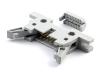 Разъем IDM-10 (IDCC), 10 pin, папа 2.54х2.54мм, на шлейф 1.27мм, HSM C9800-10ALS