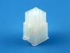 Корпус разъема MFB-3x03F, шаг 4.14х4.14мм, 5А, 300В, белая, HSM H1110-09PTAW00R