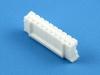 Колодка пластиковая HB-10, шаг 2.00мм, 2А, 100В, белая, HSM H2003-10PSW000R