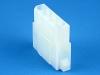 Корпус разъема TH-04F, для клемм мама, шаг 5.08мм, белый, HSM H2430-04PW0000R