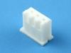 Корпус разъема HK-03 (XHP-03/CHU-03), шаг 2.50мм, белый, HSM H7000-03PW0000R