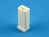 Колодка пластиковая F6.3x1, 1/20590, 602601, Копир 4573739001
