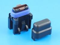Комплект герметичного держателя предохранителя флажкового стандартного, 19мм, 7.5А, MTA FH-UNI-SP-7.5A