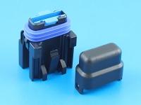 Комплект герметичного держателя предохранителя флажкового стандартного, 19мм, 15А, MTA FH-UNI-SP-15A