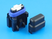 Комплект герметичного держателя предохранителя флажкового стандартного, 19мм, 25А, MTA FH-UNI-SP-25A
