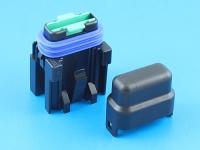 Комплект герметичного держателя предохранителя флажкового стандартного, 19мм, 30А, MTA FH-UNI-SP-30A