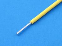 Провод монтажный луженый НВ1 0.35мм2, 600В, ГОСТ 17515-72, жёлтый (цена за 1 метр)