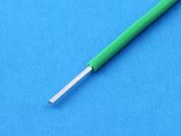 Провод монтажный луженый НВ1 0.35мм2, 600В, ГОСТ 17515-72, зелёный (цена за 1 метр)