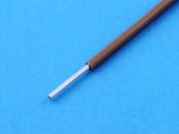 Провод монтажный луженый НВ1 0.35мм2, 600В, ГОСТ 17515-72, коричневый (цена за 1 метр)