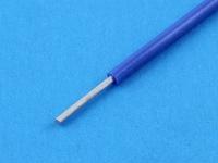 Провод монтажный луженый НВ1 0.35мм2, 600В, ГОСТ 17515-72, синий (цена за 1 метр)