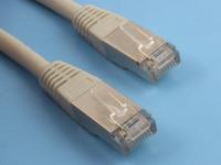Патч-корд RJ-45 - RJ-45 FTP 5e, 3,0м, серый, литой, многожильный, Rexant 18-1006-1