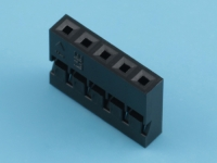 Колодка пластиковая BLS2-05, шаг 2.00мм, 2А, 250В, KLS KLS1-540B-1X05-H