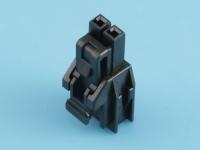 Колодка пластиковая NF-02F (Nano-Fit), шаг 2.50мм, черный, 6.5А, Molex 1053071202