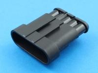 Колодка пластиковая SS15-05M, шаг 6.00мм, Superseal 1.5, Tyco 282107-1