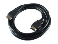 Кабель HDMI-HDMI, 1.8м, v1.4, 19M/19M, черный, позолоченные разъемы, экран, Gembird/Cablexpert CC-HDMI4-6