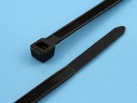 Хомут (стяжка) 250x5.0мм, черный, Rexant 07-0251-5 (цена за 1 хомут)