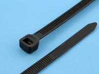 Хомут (стяжка) 400x5.0мм, черный, Rexant 07-0401 (цена за 1 хомут)