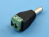 Универсальный переходник питания DJK-11AL (5.5/2.1/12мм) -> винтовой клеммник, FIT0110