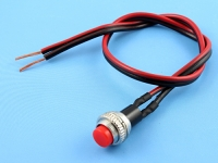 Кнопка с проводом красно/черным 2х0.35мм2, 30см Definum DF-SW01-035-030-RD