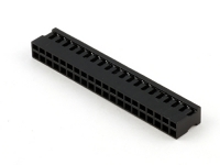 "Корпус разъема BLD2-40F (BLD2-2x20F), для клемм ""мама"", шаг 2.00мм, черный, HSM H1000-40PDB000"