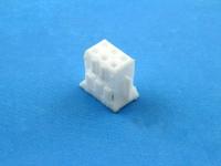 Колодка пластиковая HB-2x03 (MDU-06F), шаг 2.00 мм, 1А, 100В, HSM H2003-06PDW000R