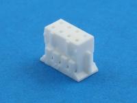 Колодка пластиковая HB-2x04 (MDU-08F), шаг 2.00х2.00мм, 1А, 100В, HSM H2003-08PDW000R