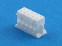 Колодка пластиковая HB-2x05 (MDU-10F), шаг 2.00 x 2.00 мм, 1А, 100В, HSM H2003-10PDW000R