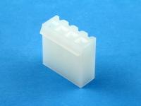 Корпус разъема PHU-04, шаг 3.96мм, белый, HSM H2410-04PYW000R