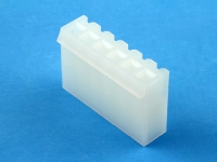 Корпус разъема PHU-06, шаг 3.96мм, белый, HSM H2410-06PYW000R