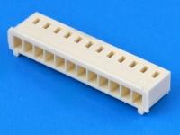 Колодка пластиковая OHU-12, шаг 2.50мм, 2А, 250В, бежевый, HSM H2560-12PI0000R