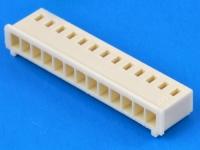 Колодка пластиковая OHU-13, шаг 2.50мм, 2А, 250В, бежевый, HSM H2560-13PI0000R
