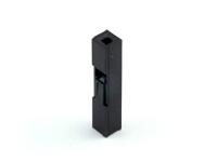"Корпус разъема BLS-01 (BL-01F), для клемм ""мама"", шаг 2.54мм, черный, HSM H4000-01PSNB00R"