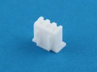 Колодка пластиковая HK-03, шаг 2.50 мм, белая, 1А, 250В, Connfly I-DS1069-SCW003