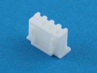 Колодка пластиковая HK-04, шаг 2.50мм, 1А, 250В, белая, Connfly I-DS1069-SCW004