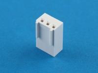 Колодка пластиковая HU-03, шаг 2.54мм, 3А, 250В, белая, Connfly I-DS1070-SCW003