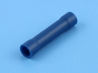 Гильза соединительная, 1.50-2.50мм, под обжим, полностью изолированная, синяя, Jeesoon P2V