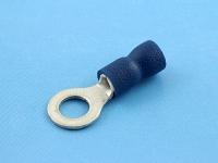 Кабельный наконечник кольцевой, изолированный, M5, 1.50-2.50мм2, 27А, 690В, синий, КВТ НКИ 2.5-5